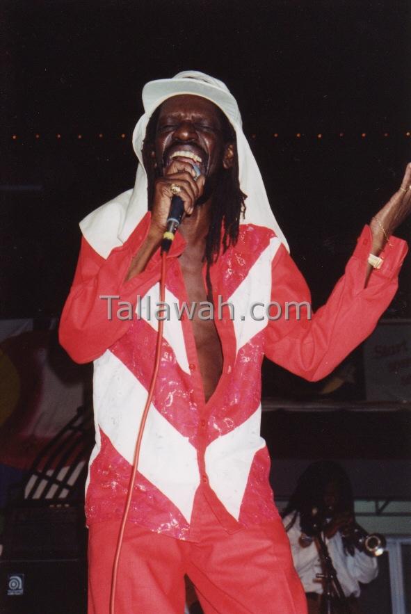 "Wilburn ""Stranger"" Cole.  Montego Bay Jamaica, 1995."